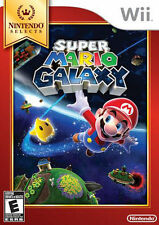 Super Mario Galaxy (Nintendo Wii, 2011 )Nintendo Selects ~ Brand New Sealed~