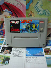 Super Nintendo SNES:Cybernator - Valken [TOP KONAMI & 1ERE EDITION] SEUL - UK