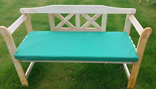 Outdoor Waterproof 2 Seater Bench / Swing Seat Garden Furniture Pad Cushion ONLY