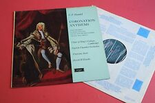 ZRG 5369 Handel Coronation King's College Thurston Dart David Willocks ARGO UK
