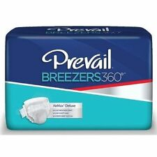 NEW! Prevail Breezers 360 SIZE 1 Briefs Pack of 16 ADULT DIAPERS Free Shipping!