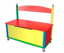 Pencil Toy Chest or Wooden Storage Bench, Cute! Bin Box Wood Kids Organizer
