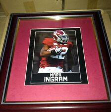 "ALABAMA CRIMSON TIDE FRAMED ART PICTURE "" Mark Ingram "" New Print"
