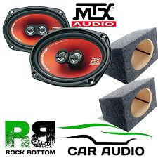 MTX tr694 300 WATT A 3 VIE AUTO POSTERIORE Scaffale Altoparlanti E 6 X 9 BOX Enclosure