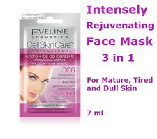 EVELINE Intensely Rejuvenating Face Mask 3in1 Reduce Wrinkles & Mimic Lines, 7ml