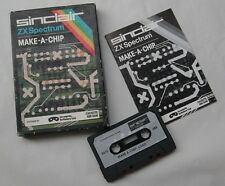 Sinclair ZX Spectrum make-a-chip incognito logiciel cassettes éducatif