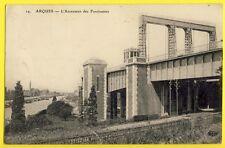 CPA France ARQUES (Pas de Calais) ASCENSEUR à BATEAUX des FONTINETTES Boat lift