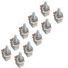 10pack A500k Push Pull Guitar Control Pot Potentiometer Splift Shaft:6mm New