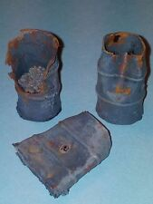 1/35 Scale  - Damaged 40 gallon barrels ( 3pce) Diorama accessory