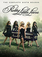 Pretty Little Liars: The Complete Sixth Season (DVD, 2016, 5-Disc Set)- New