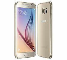 Samsung Galaxy S6 SM-G920A Gold At&t (Unlocked) - 128GB Android Smartphone
