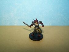 Half Red Dragon Fighter - Tyranny of Dragons #36 D&D Rare Miniature