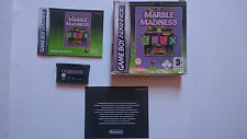 JUEGO COMPLETO MARBLE MADNESS AND KLAX GAMEBOY GAME BOY ADVANCE PAL