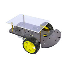 2WD Smart Car Robot Chassis for Arduino with Gear Motor Tyre Wheel DIY Car Kit