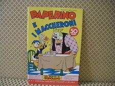 Paperino e i maccheroni -Nel regno di Topolino-  Albo n. 89- 10-9-1939 (AB0)