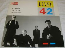 Level 42 - Lessons in Love - Extended Version -  Maxi Single Vinyl