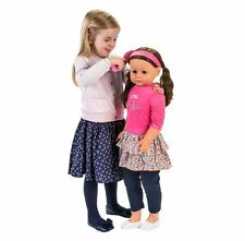 Life size doll my sweet lil 'soeur brune walking dolly énorme 86cm haute neuf