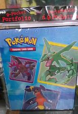 Pokemon Generic 9 Pocket Page Portfolio Album Binder Holder Card Protector
