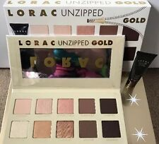 NIB! LORAC Unzipped Gold Shimmer and Matte Eye Shadow Palette
