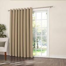 "Sun Zero Barrow Extra Wide Room Darkening Patio Curtain Panel 100"" by 84"", New,"
