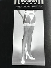Wolford Jean Paul Gaultier tights pantyhose size S small Rare Vintage Ladies