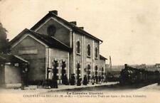 La Lorraine illustrée - COLOMBEY LES BELLES - L'arrivée d'un train en gare