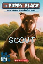 kids paperback gr 2-4:The Puppy Place series-Scout,every puppy finds home-German