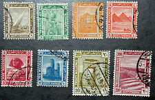 Timbre EGYPTE - Stamp EGYPT - Yvert et Tellier n°44 à 50 et 53 obl (Cyn15)