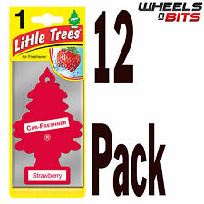 12 x Magic Tree Piccolo Alberi Fragole Profumo Fragranza Auto Furgone Deodorante