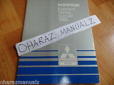 1985 Mitsubishi Mirage Electrical Service Manual OEM