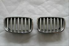 fit BMW X5 E70 2007-2013 NEW style chrome front grille mesh grill vent