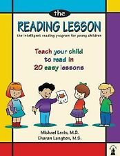 The Reading Lesson: Teach Your Child to Read in 20 Easy Lessons Levin MD, Micha