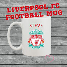 Personalised Liverpool Football Club Mug - Your Name - Ideal Present For Any Fan