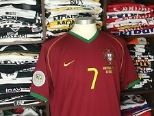 PORTUGAL home World Cup 2006 - FIGO #7 - Real Madrid-Inter Milan-Camisola-Jersey