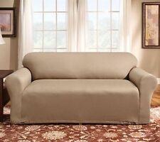 Sure Fit 4-way Stretch Sofa Slip Cover 1 piece Surefit Slipcover for couch New