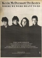15/7/89Pgn09 Advert: 'where We Were Meant To Be' By Kevin Mcdermott Orchestra