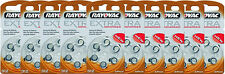 60 Rayovac Extra Advanced Hearing Aid Batteries, SIZE 312, FREE USA SHIPPING!