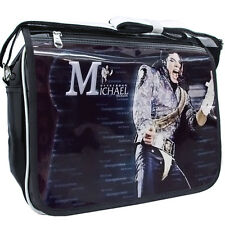 Michael Jackson Borsa/sacco/bag PU Leather Cuoio tasca Dangerous Tour Scene112f6