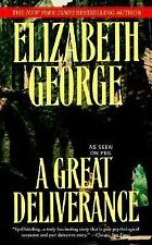 Inspector Lynley: A Great Deliverance by Elizabeth George (2007, Paperback)