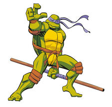 TMNT Donatello Totally Movable Wall Sticker Decal Remove & Reuse Home Decor