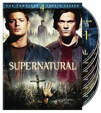 SUPERNATURAL: SEASON 4 DVD - THE COMPLETE FOURTH SEASON [6 DISCS] - NEW