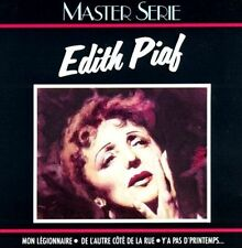 Master Serie by Edith Piaf (CD, 1988, Verve) Very Good Condition!