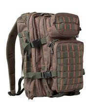 Green & Red Small 28 ltr Daysack Army Camping Rucksack Assault Pack