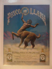1976 Print Ad Pisco Llama Spirit of the Andes Liquor ~ Centaur FANTASY Art