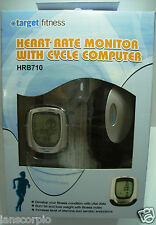 TARGET FITNESS - HEART RATE MONITOR WITH CYCLE COMPUTER WITH BRACKET HRB710