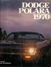 Dodge Polara 1970 USA Market Sales Brochure Sedan Hardtop Convertible Wagon