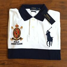 RALPH LAUREN Mens Custom - Fit  Big Pony Polo M NWT $107