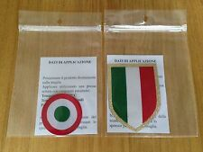 2015-17 JUVENTUS SCUDETTO E COPPA ITALIA UFFICIALE STILSCREEN BADGE set di patch