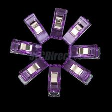 50Pcs Wonder Clips Quilters clips Sewing Clip Quilting Supplies Purple