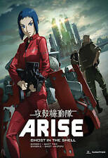 Ghost in the Shell: Arise - Borders 1 & 2 (Blu-ray Disc, 2014, 4-Disc Set)